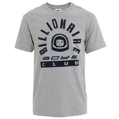 Billionaire Boys Club : T-shirts : Space Cadet Tee in Grey : John Anthony Mens Designer Clothes