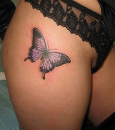 Butterfly Tattoo, but on Arm