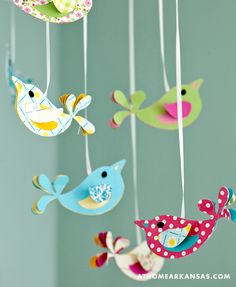 These birds would make an adorable wreath
