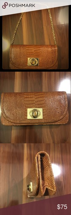 Judith Leiber handbag Brown handbag, perfect for any occasion! Judith Leiber Bags Shoulder Bags