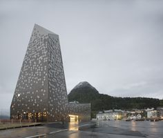 Completed in 2016 in Åndalsnes, Norway. Images by Søren Harder Nielsen. The Norwegian Mountaineering Center is anchored in an innovative interpretation of nature's fantastic dimensions and the dramatic experience of...