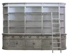 Antica Bookcase. A Block and Chisel Product.