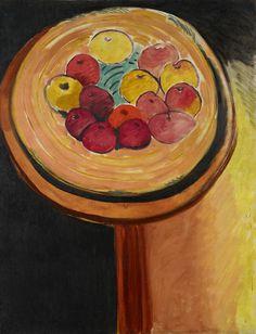 Henri Matisse / Apples / 1916 / Oil on canvas / Art Institute of Chicago