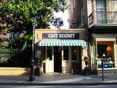 Cafe Beignet in New Orleans, LA