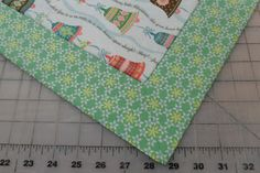 ! Sew we quilt: Comfort and JOY with Tammy and her Christmas Table Topper with perfect mitered corners Bonus 2 Guests today!