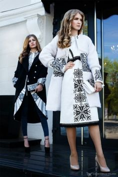 60 Fashion, Couture Fashion, Hijab Fashion, Fashion Dresses, Womens Fashion, Fashion Design, Folk Fashion, Embroidery Fashion, Embroidery Dress