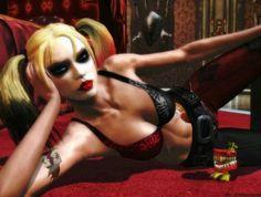 Wallpaper Batman Arkham city Joker Harley quinn HD