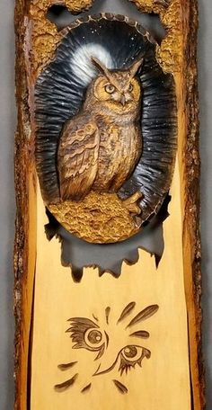 Wooden Gift Owl Carved Wood Carving Wall Art Wooden от DavydovArt