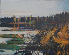 Oretjern om høsten II av Odd Skullerud Om, Paintings, Kunst, Pictures, Paint, Painting Art, Painting, Painted Canvas, Drawings