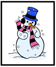 Snowman Describing Game