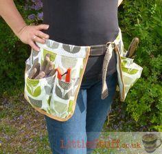 Sew Easy Gardening Tool Belt - Free Tutorial