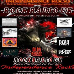 """Check out """"As aired through Rock - Radio UK on 24th May 2017"""" by Nick Giles on Mixcloud"""