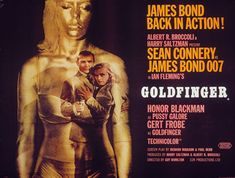 Goldfinger  Showing October 11, 2013 at 8pm,  Center for the Arts,  General Admission $5