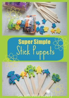 Life with Moore Babies: Super Simple Stick Puppets