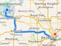 """How to force iOS 8 to use third-party maps Don't want Apple Maps to navigate you? Here's how to """"opt out"""" in iOS Apple Maps, Sterling Heights, Ios 8, Third Party, Birmingham"""