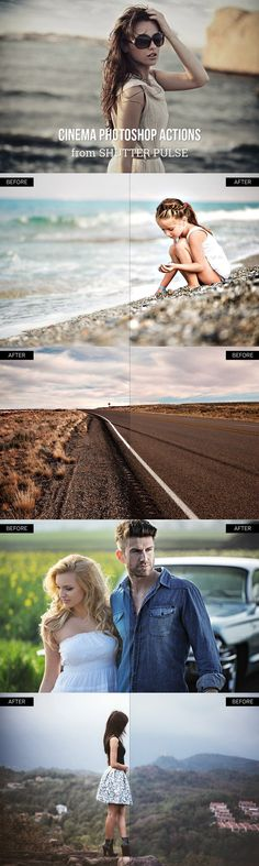 Cinema Photoshop Actions. Actions. $9.00