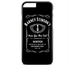 Barney Stinson Have You Met Ted Jack Daniels How I Met Your Mother TATUM-1352 Apple Phonecase Cover For Iphone SE Case