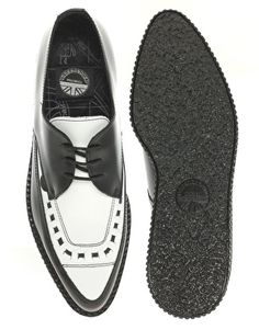Underground Barfly Pointed Toe Creeper Shoes  £89.99