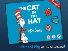 The Cat in the Hat by Oceanhouse Media - Free: an interactive story book of Cat in the Hat.
