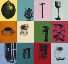 design-is-fine: Andy Warhol, artwork for a Corporate Trade Ad, 1963. Container Corporation of America, Smithsonian American Art Museum