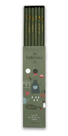 Botanics Bleistifte Set | New | pleased to meet