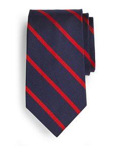 BB#3 Repp Tie - Brooks Brothers