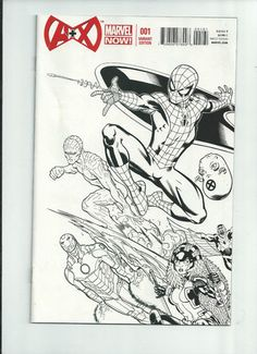 A PLUS X #001 Great 1/50 sketch VARIANT by Ed McGuinness! ~NM~ http://r.ebay.com/iOP1uN