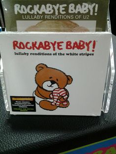 New from Rockabye Baby Twitter / ABCSpring: Rockabye Baby #223 New White ...