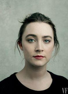 Saoirse Ronan–20 films. Photograph by Annie Leibovitz.