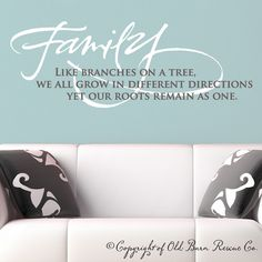 family tree wall hanging | Family...like branches on a tree - Wall Decals & Home Decor | Wall ...