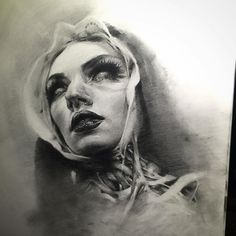 """Godless"" drawing by Mikey Carrasco"