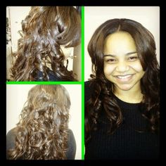 Micro link hair extension