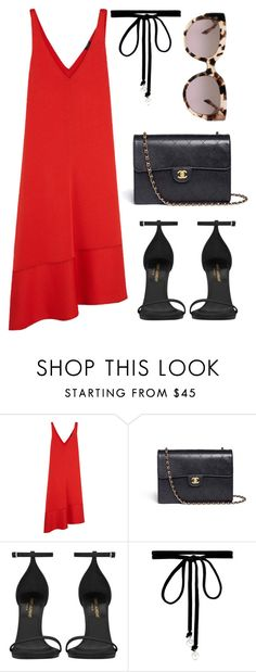 """""""Untitled #494"""" by farrahaqs on Polyvore featuring Joseph, Chanel, Yves Saint Laurent, Joomi Lim and Michael Kors"""
