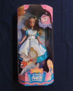 New Disney Classics Alice in Wonderland Barbie Doll 21933 Mattel 1998 | eBay