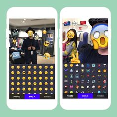 Emoji-up your pics with this app.