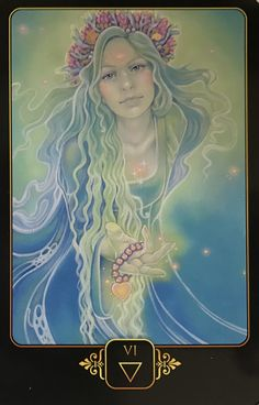 Featured Card of the Day - 6 of Water - Dreams of Gaia by Ravynne Phelan-Oracle cards. Mystical, visionary and fantasy art. Discover some of the most spiritual artwork by amazing artist from around the world…. Gaia, Tarot By Cecelia, Tarrot Cards, Astro Tarot, Tarot Astrology, Pagan Art, Oracle Tarot, Tarot Spreads, Fantasy Illustration