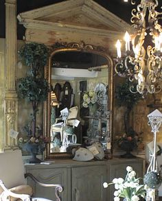 Country French Antiques, Very nice vignette!  TG
