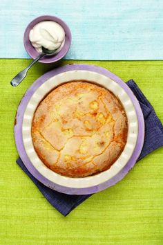 In the oven -  Irish Apple Cake | picture and recipe from Fox News Magazine
