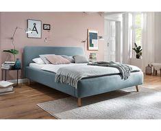 Norden Home Polsterbett Garret & Bewertungen Cozy Bedroom, Modern Bedroom, Bedroom Decor, Student Room, Upholstered Beds, Bedroom Colors, New Room, Room Inspiration, Headboards