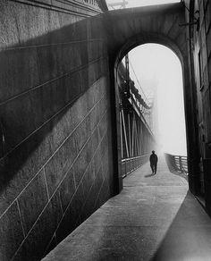Manhattan bridge, 1953