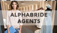 BOOK AN ALPHABRIDE AGENT TODAY.:Get access to amazing wedding vendors and great discounts for your wedding related services. Visit alphabride.com today.