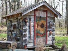 Log Cabin Outhouse/Shed