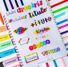 Bullet Journal Lettering Ideas, Bullet Journal Writing, Journal Fonts, Bullet Journal School, Bullet Journal Ideas Pages, Bullet Journal Inspiration, Hand Lettering Fonts, Lettering Tutorial, Lettering Styles