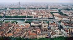Located in east-central France, Lyon is the capital of the Rhone department in the Rhone-Alpes region. Boasting a long history, Lyon today is the third largest city in France, known for its historic architecture, gastronomy and vibrant cultural scene. Renaissance Hotel, Renaissance Architecture, Historic Architecture, Ville France, Lyon France, Barcelona 2017, Le Havre, Destinations, Rhone