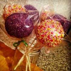 Cake pops by me!!!