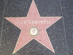 Glenn Campbell Hollywood Star Walk, Glen Campbell, Best Country Music, Soul Shine, Chinese Restaurant, Instruments, Audio, Celebrity, Singer