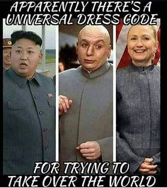 Funny humor for American patriots. Funny meme with Hillary and friends...