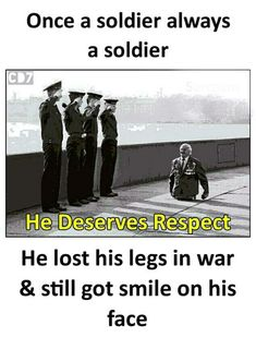 salute to u sir. Wow Facts, Real Facts, Real Life Quotes, Reality Quotes, Real Life Heros, Army Quotes, Interesting Facts About World, Unique Facts, Creepy Facts