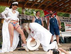 Redneck Wedding.
