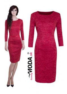 Úpletové šaty - cs07